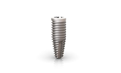 single dental implant titanium